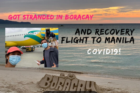 Being stranded in Boracay and the Recovery Flight to Manila during COVID19